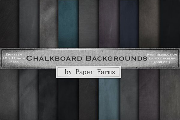 Chalkboard Texture Seamless Design