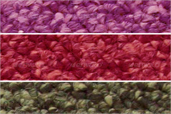 Colorful Carpet Texture Design