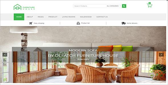 Company Furniture WordPress Theme