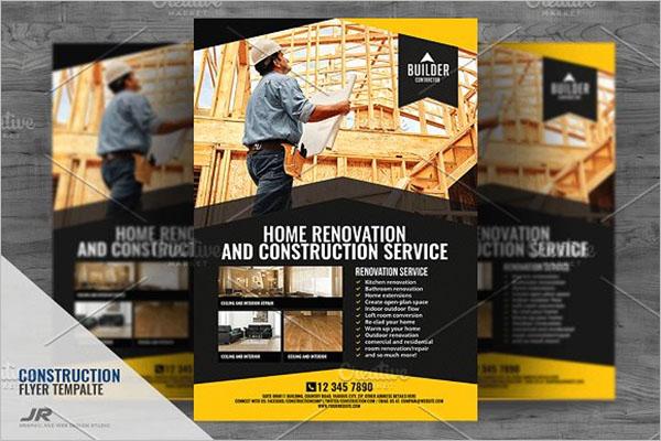 Construction & Building Flyer Template
