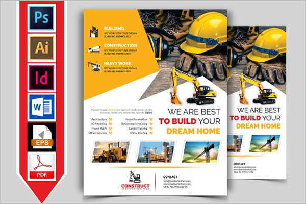 Construction Flyers Ideas