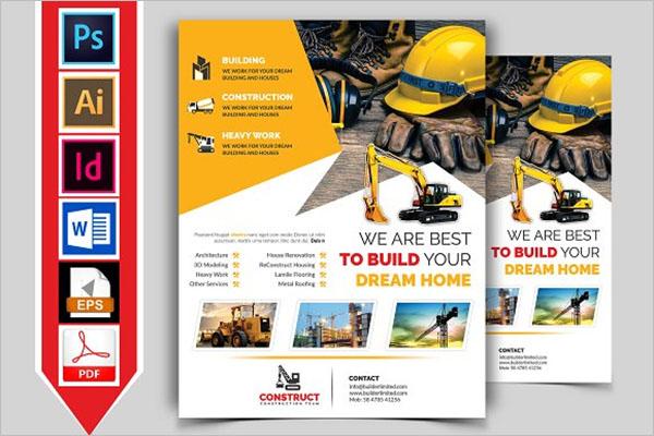 Construction Flyers Ideas