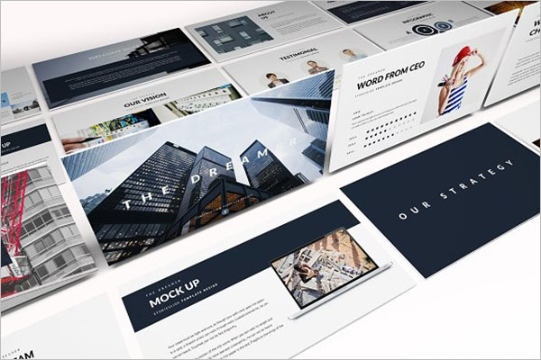 Construction Keynote Poster Template
