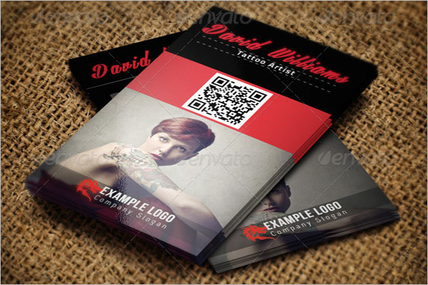 Cool Tattoo Business Card Template