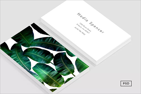 Corporate Staples Business Card Template