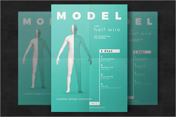 Creative 3D Flyer Template