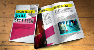 Creative Brochure Design PSD