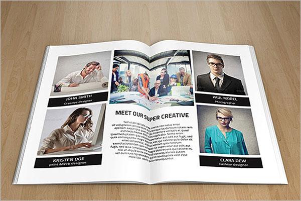 Creative Brochure Format