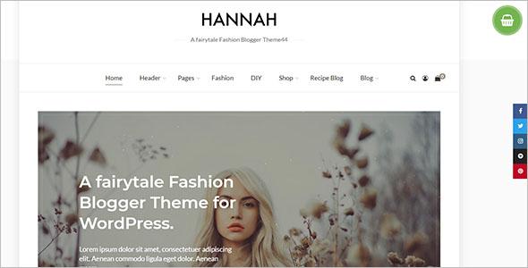 Creative Fashion Blog Theme