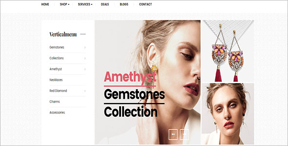 Creative Jewelry Opencart Theme