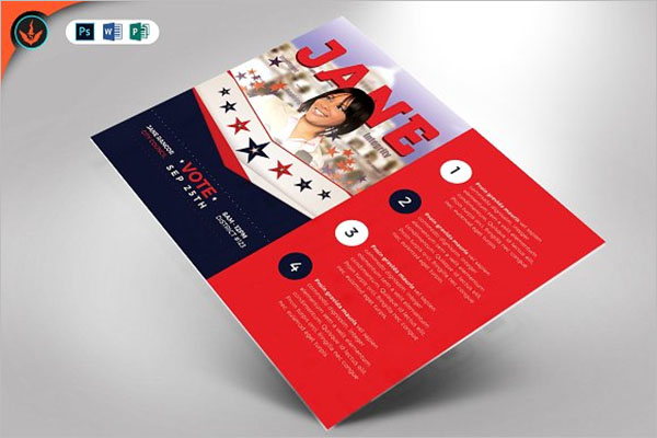 Creative Political Flyer Template