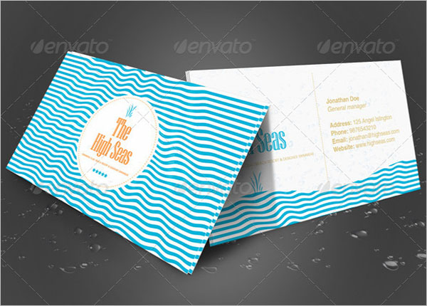 Creative StapleS Business Card Template