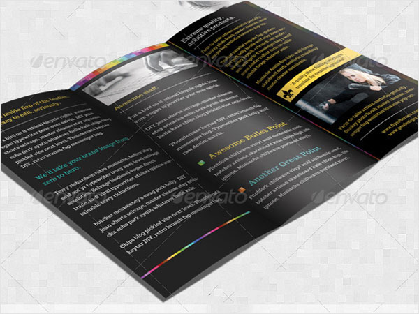 Creative Tri-fold Brochure Template