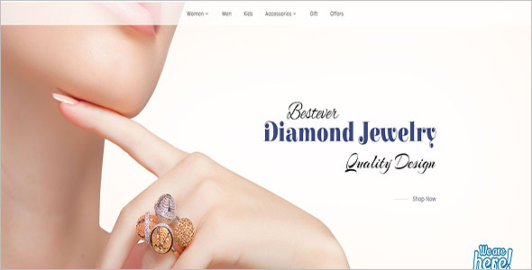 Crystal Jewelry Opencart Theme