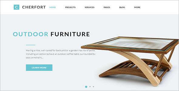 Custom Furniture WordPress Theme