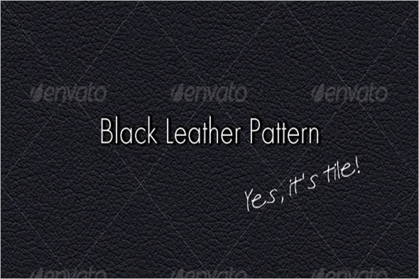 Dark Leather Texture Design