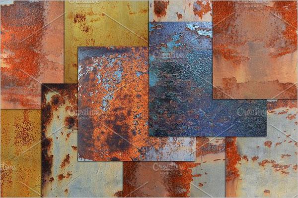 Dark Metal Rust Texture Design