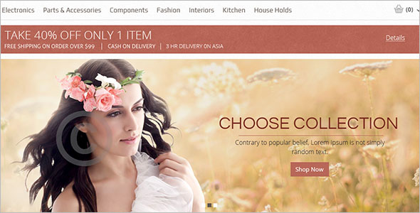 Demo Magento Shopping Template
