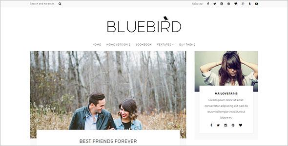 Developer Blog WordPress Theme
