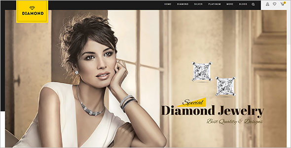Diamond Responsive OpenCart Theme