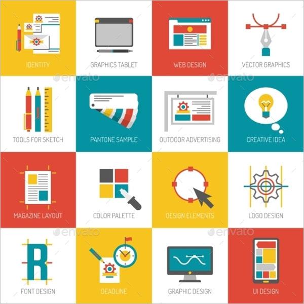 Digital Graphic Design Icon