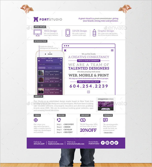 Digital Graphic Design Poster