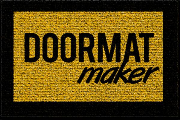 Doormat Maker Texture Design