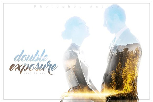 Double Exposure Action Design