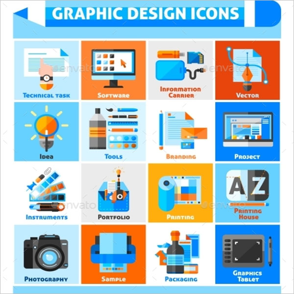 Editable Free Graphic Icon Design