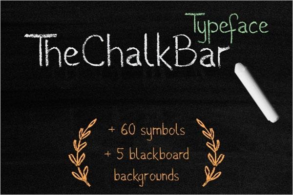Education Chalk Bar Texture Template