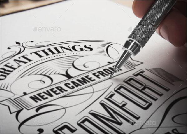 Elegant Typography Poster Design