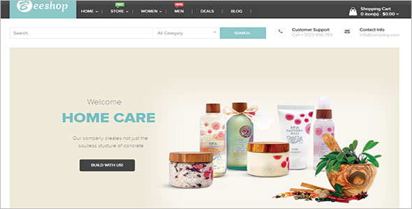 Emarket WordPress Opencart Theme