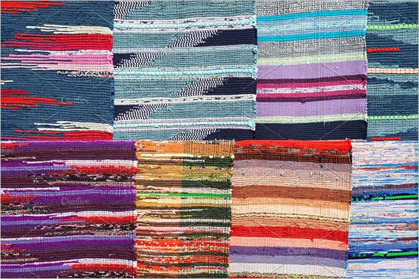 Ethnic Carpet Texture Design