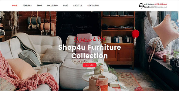 Example Magento Shopping Theme