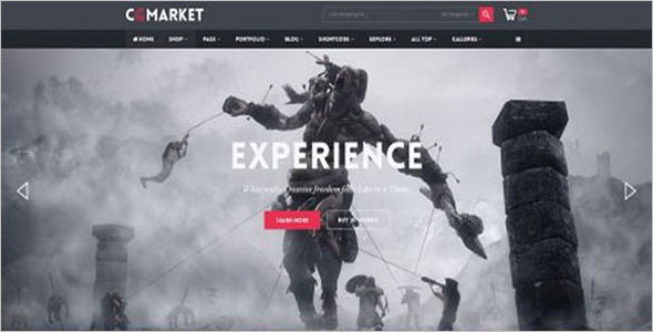 Example Opencart Theme Layout