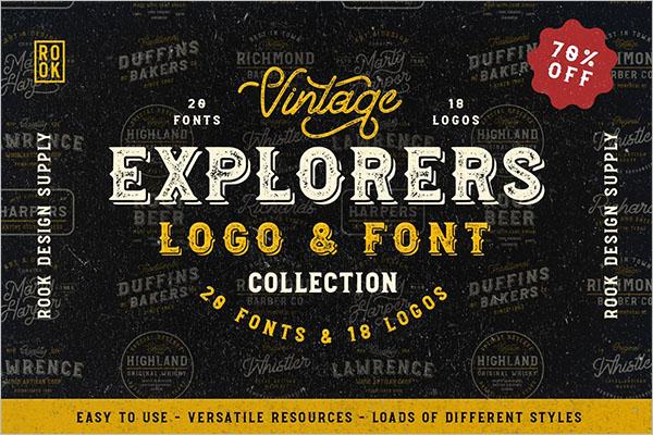 Explorers Font Collection