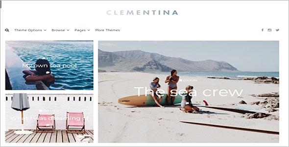 Fashion and Travel Lifestyle Blog Theme