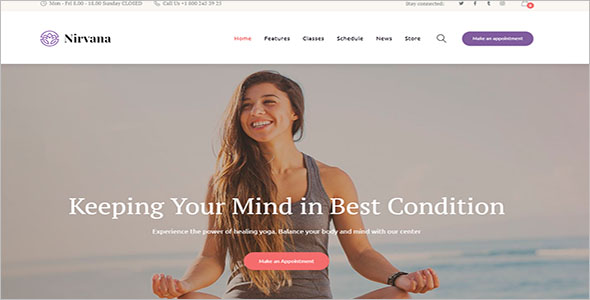 Flexible Spiritual WordPress Theme