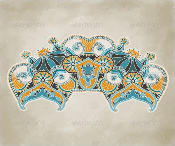 Floral Pattern Wallpaper Texture
