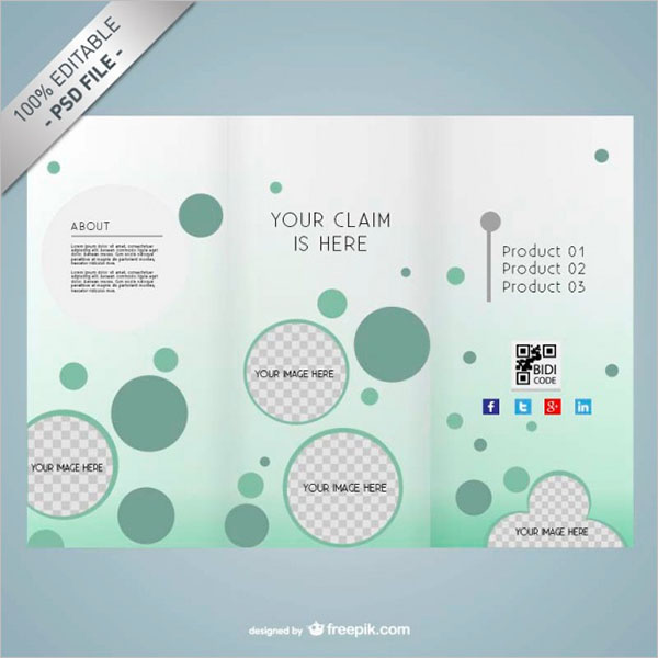 Free Creative Brochure Design PSD
