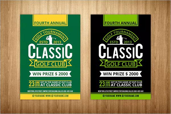 Free Golf Flyer Template