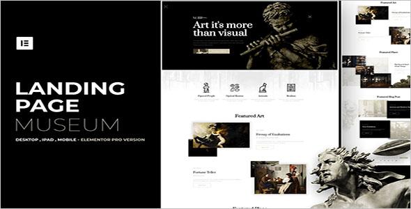 Free Museum WordPress Template