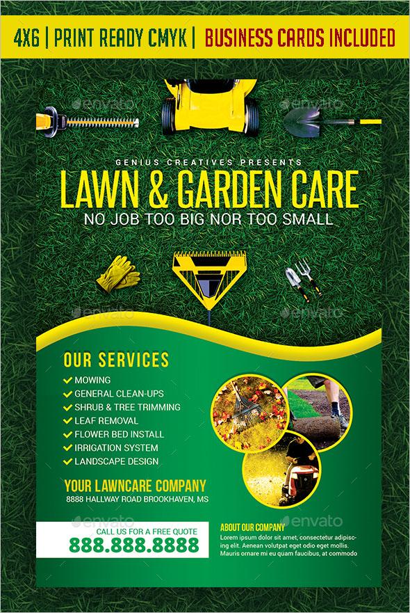Garden & Landscaping template