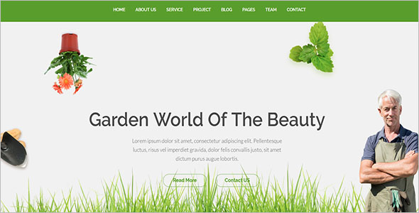 Gardening and Landscaping Template
