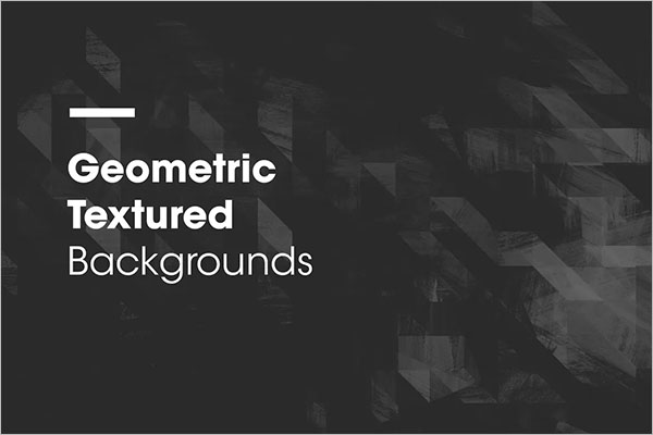Geometric Textured Background Design