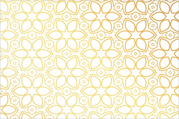 Golden Pattern Texture Design