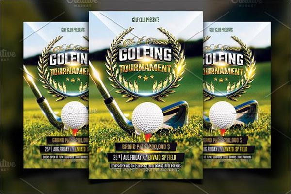 Golf Town Flyer Template
