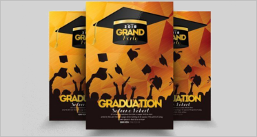 Graduation Flyer Templates