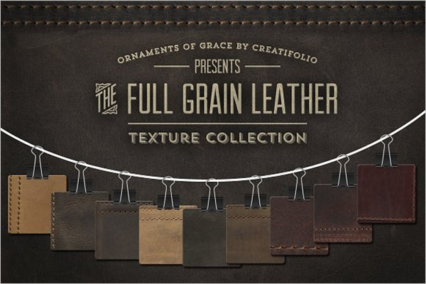 Grain Leather Texture PNG