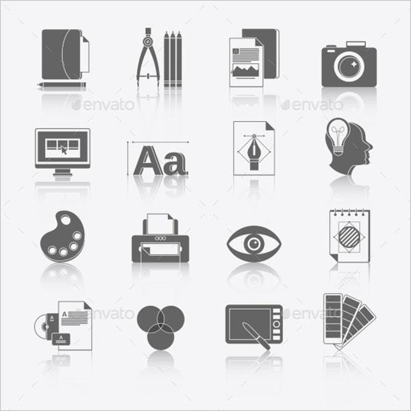 Graphic Design Icon Vector Free